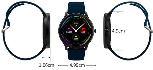KingWear G5 Smartwatch design