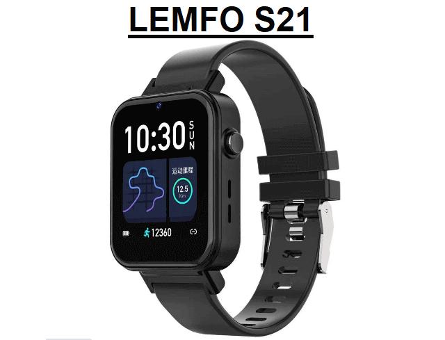 LEMFO S21 4G Smartwatch