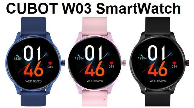 CUBOT W03 SmartWatch