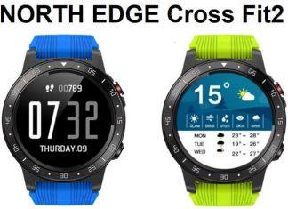 North EDGE Cross FIT2 SmartWatch