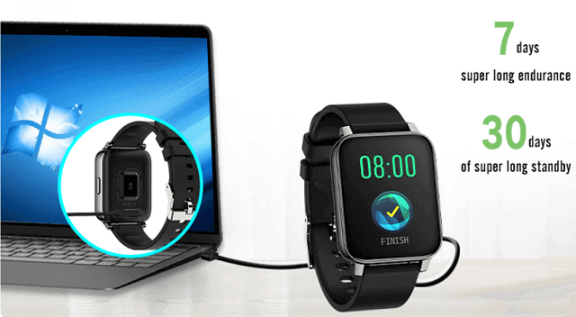 P36T SmartWatch Features