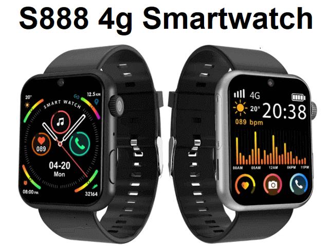 S888 4G Smartwatch