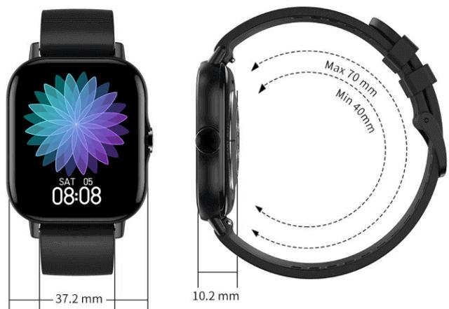 dt94 smartwatch design