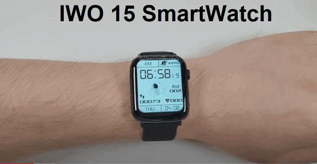 IWO 15 SmartWatch