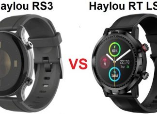 Haylou RS3 VS Haylou RT LS05S Smartwatch