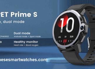 Kospet Prime S 4g smartwatch