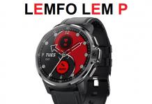 LEMFO LEM P 4G SmartWatch