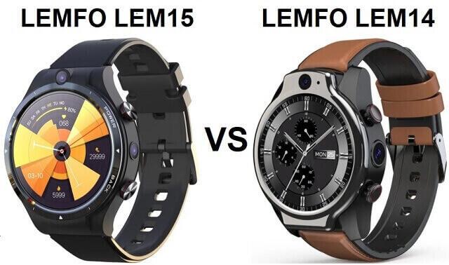 LEMFO LEM15 VS LEMFO LEM14 SmartWatch Comparison