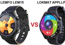 LOKMAT APPLLP 4 VS LEMFO LEM15