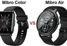 Mibro Color VS Mibro Air Smartwatch