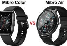 Mibro Color VS Mibro Air Smartwatch