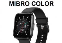 mibro color smartwatch