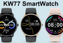 KingWear KW77 SmartWatch