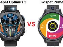 Kospet Optimus 2 VS Kospet Prime 2 Smartwatch
