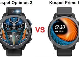 Kospet Optimus 2 VS Kospet Prime S Smartwatch