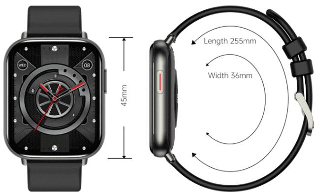 LA07 SmartWatch Design