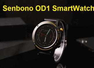 Senbono OD1 SmartWatch