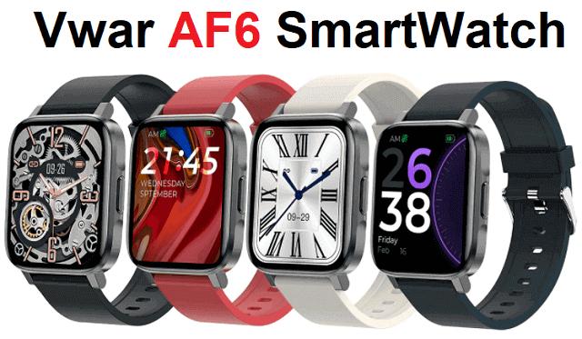 Vwar AF6 SmartWatch