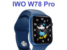 W78 Pro Smartwatch