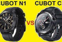 CUBOT N1 VS CUBOT C3 SmartWatch Comparison