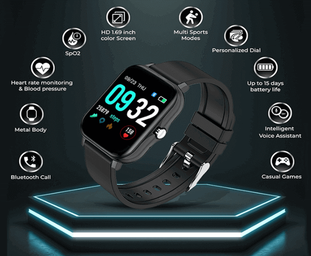 FCUK Series 2 SmartWatch Features