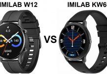 IMILAB W12 VS IMILAB KW66 SmartWatch