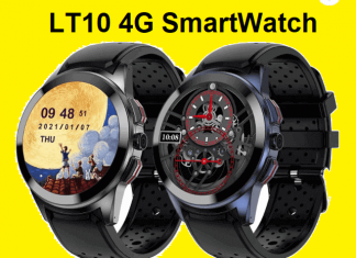 LT10 4G SmartWatch