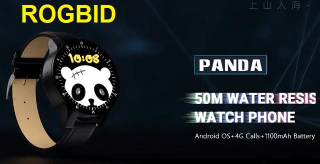 Rogbid Panda 4G LTE SmartWatch