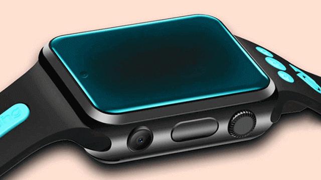 W5 4G Smartwatch Design