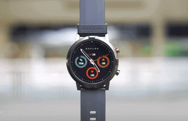 Xiaomi Haylou RT LS05S smartwatch display