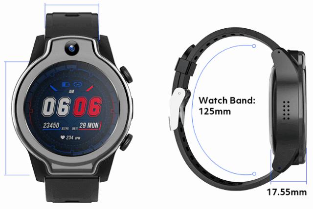 Rogbid Brave S Smartwatch Design