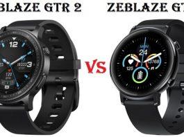 ZEBLAZE GTR 2 VS ZEBLAZE GTR SMARTWATCH