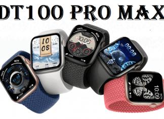 DT100 Pro Max SmartWatch