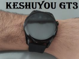 KESHUYOU GT3 Smartwatch