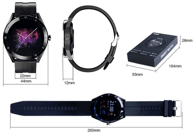 KESHUYOU K60 SmartWatch Design