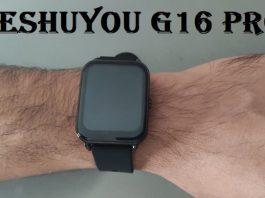 Keshuyou G16+ smartwatch