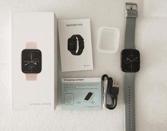 Senbono P25 Smartwatch Design