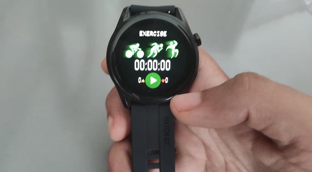 GT3 smartwatch Sport Modes