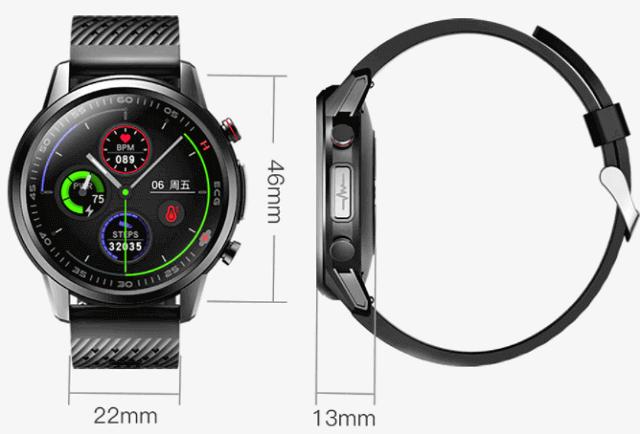 KUMI KU3 Pro smartwatch design