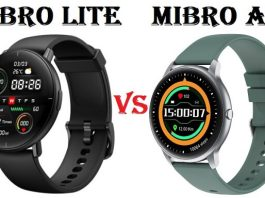 Xiaomi Mibro Lite VS Mibro Air SmartWatch