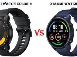 Xiaomi Watch Color 2 VS Xiaomi Watch Color smartwatch